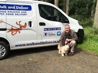 Dog Walking, Day Care and Boarding. Pet Transport Service. Pet Food Delivery