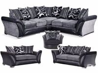THIS WEEK ONLY DFS SHANNON SOFA RANGE BRAND NEW FREE STORAGE POUFFE