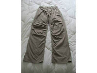 THE NORTH FACE PANTALON RANDO HOMME SMALL SABLE NEUF