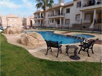 very nice Flat 2 bedroom pool Spain Alicante rent or sale