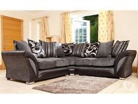 ** WHOLESALE PRICE ** SHANNON CITY CORNER SOFA BRAND NEW IN DIFFERENT COLOURS FAST DELIVERY