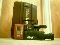 JVC 1980s Compact VHS Vintage/Retro BACK TO THE FUTURE tape camcorder