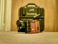 1980s Vintage/Classic/Retro JVC Compact VHS tape camcorder