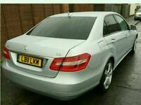 Pco Mercedez E220 11 plate on rent from £175