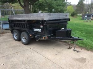 Dump Trailer and other rental equipment