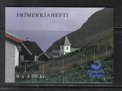 Faroe Is 1993 Nordic: Tourism complete booklet--Attractive Topical (251a) MNH