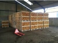 Kiln Hardwood Firewood Logs Birch Ash Oak Supplied In A Dumpy Bag £65 Inc Free Local Delivery!