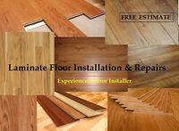 Laminate Floor Installation & Repairs - Estimate is Free