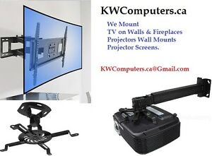 TV Wall Mounting - Projector & Screen Mounting