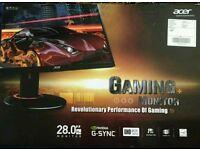 "28"" g sync 4K monitor"