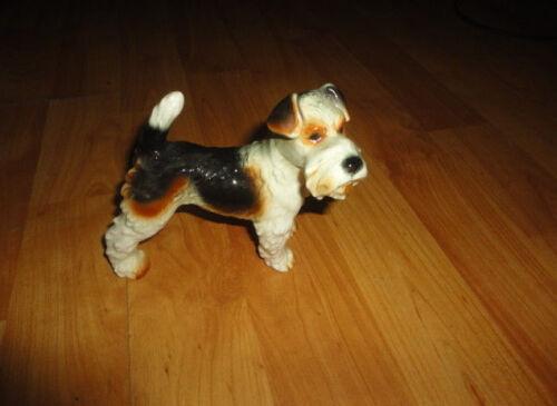 Goebel Large Fox Terrier Dog Figurine
