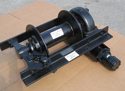 Tulsa Hydraulic Winch Assy 18g 20000 Pounds Heavy Duty Military Truck Parts