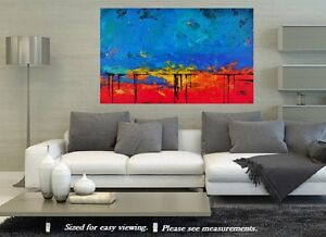 New Vibrant Original Painting
