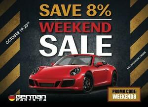 GermanParts.ca Weekend Sale - Additional 8% OFF on all European Auto Parts - Next Day Delivery - 60+ Pick Up Locations