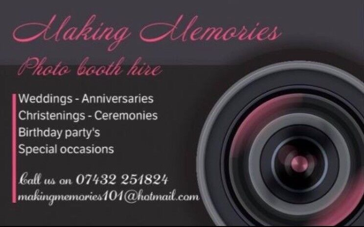 Photo booth hire for all occasions,weddings,birthdays,parties,corporate events