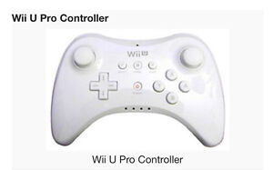 WANTED!! Wii U pro controller
