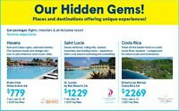 Our Hidden Gems Packages!