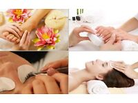 Mobile beauty therapy therapist wax at home gel shellac manicure pedicure keratin facial blackhead