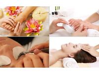 Mobile beauty therapist therapy wax at home gel shellac manicure pedicure nails facial tint eyebrows