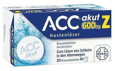 ACC akut 600 Z Hustenlöser Brausetabletten 20 St PZN: 3294723