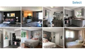 Beautiful 3 bedroom apartment, 1500/everything included