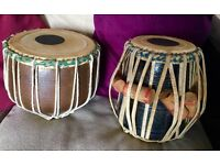 Vintage indian tabla drums set slough pickup