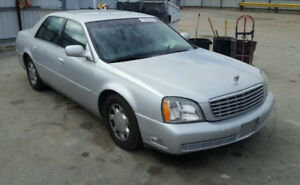 2003 Cadillac deville fully loaded good condition