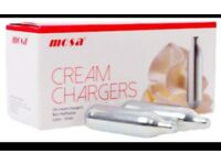 Cream mosa best charger NOS good quality