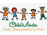 Childminding service available