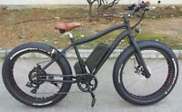 Electric FAT Bicycle or Fat Ebike  all-season on multi-terrains