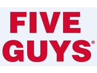 Five Guys - Crew Team Member