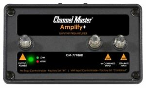 AmplifyAdjustable Gain Preamplifier with LTE Filter