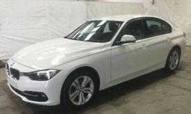 White BMW 318 1.5 Petrol Auto 2016 i Sport FROM £77 PER WEEK!