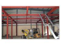 Steel / staircase erector