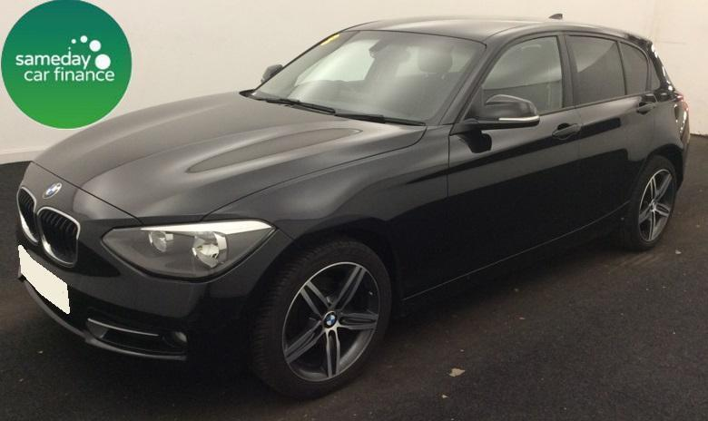 £248.60 PER MONTH BLACK 2013 BMW 116D 2.0 SPORT 5 DOOR DIESEL MANUAL