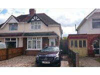 2 Bedroom Spacious Semi Detached House, Swindon, £780pm