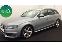 £218.85 PER MONTH SILVER 2010 AUDI A4 AVANT 2.0 S LINE ESTATE DIESEL MANUAL
