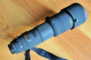 Sigma 500mm F4.5 APO HSM for canon