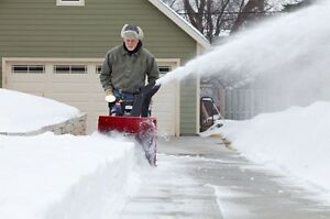 Snow Blowing  Cambridge Kitchener Area image 1