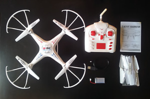 DW Explores RC Camera Drone / Quadcopter - 2.4ghz / 6 Axis Gyro