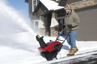 general labourers to shovel snow