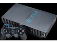 PLAYSTATION 2 PS2 WITH 17 GAMES, 2 x MEMORY CARD & 2 CONTROLLERS