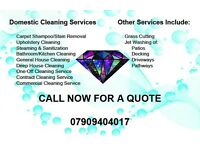Domestic Cleaning services in BIRMINGHAM and surrounding areas