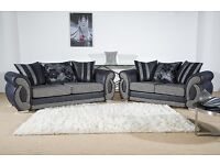 BRAND NEW CHLOE 3 + 2 SOFA SET - FAST FREE UK DELIVERY
