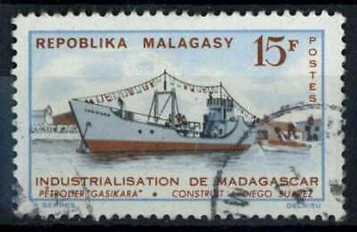 Malagasy Rep. 1962 SG#51, 15f Tanker, Ship Used #E83464
