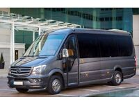 SAVE 35% OFF TODAY-BOOK YOUR TAXI, MINIBUS OR COACH HIRE IN MANCHESTER WITH A DRIVER (ALL OCCASIONS)