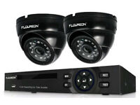 Complete 2 camera HD cctv system - brand new in box