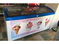 Shop display freezer