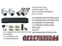 hd cctv camera system supplied and fitted limited offer today