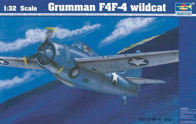 Trumpeter 9362223 Grumman F4F-4 Wildcat 1:32 Jagdflugzeug Modellbausatz